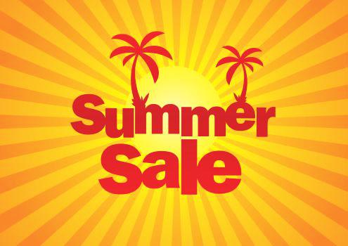 summer sale on to a winner